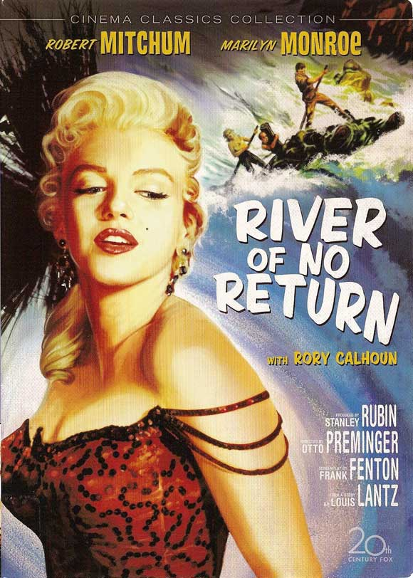 River of No Return (1954) filminin afişi
