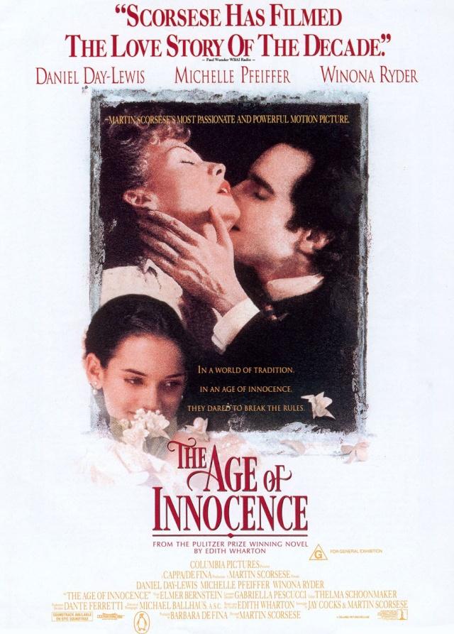The Age of Innocence (1993) filminin afişi