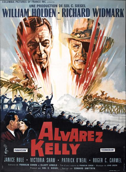 Alvarez Kelly (1966) cover