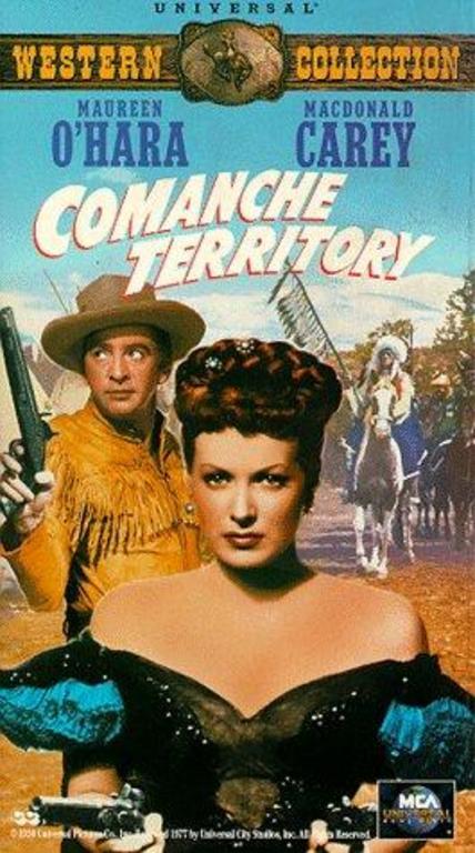 Komançi Bölgesi - Comanche Territory (1950)