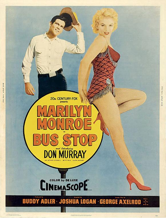 Bus Stop (1956) filminin afişi