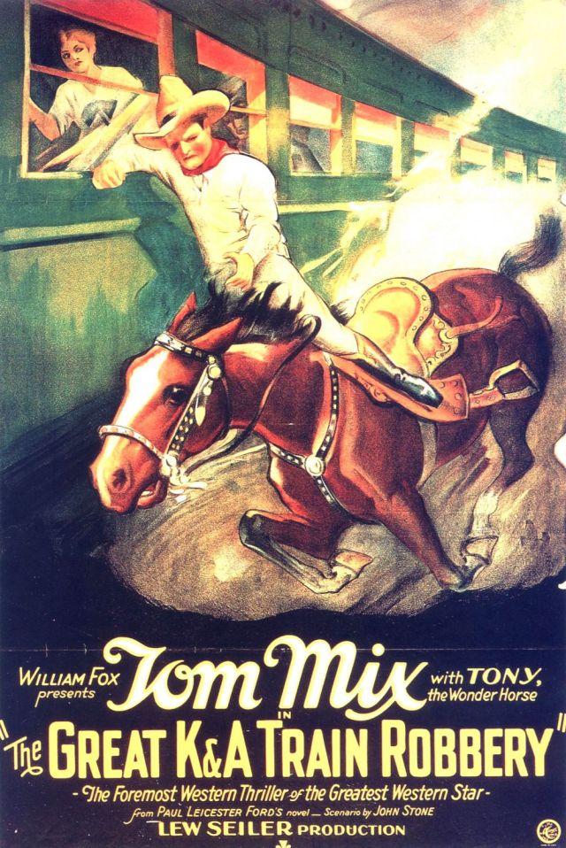 The Great K & A Train Robbery (1926) filminin afişi