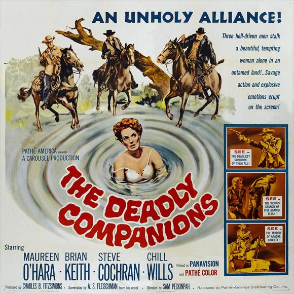 The Deadly Companions (1961) filminin afişi