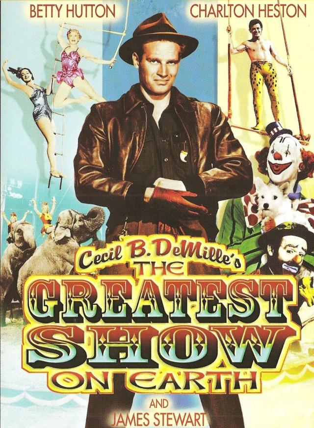 The Greatest Show on Earth (1952) filminin afişi
