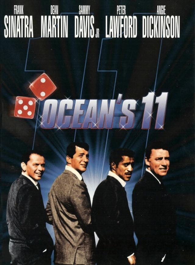 Ocean's Eleven (1960) filminin afişi