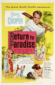 Return to Paradise (1953) filminin afişi