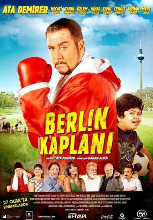 Berlin Kaplanı (2012) filminin afişi