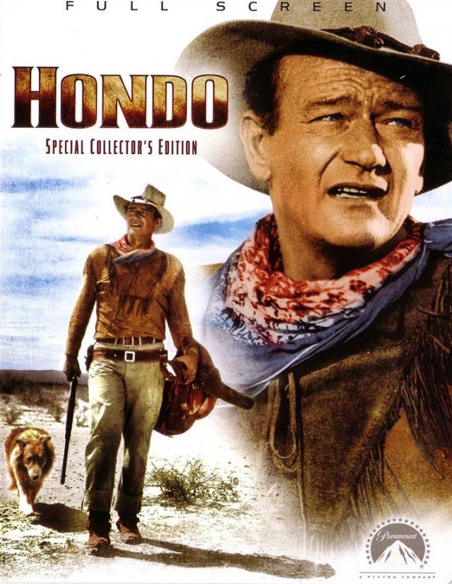 Hondo (1953) filminin afişi