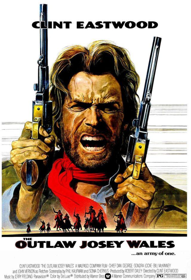 The Outlaw Josey Wales (1976) filminin afişi