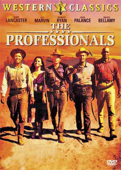 The Professionals (1966) filminin afişi