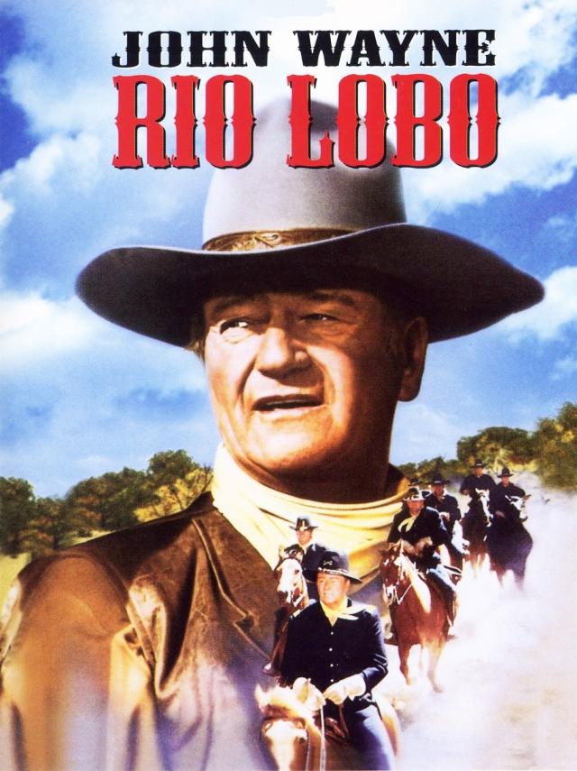 Rio Lobo (1970) filminin afişi