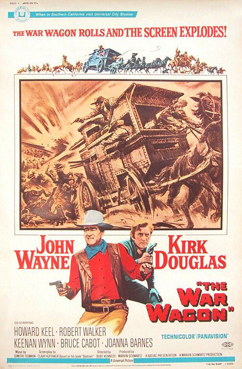 The War Wagon (1967) 720p filminin afişi