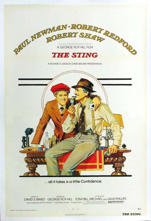 The Sting (1973) filminin afişi