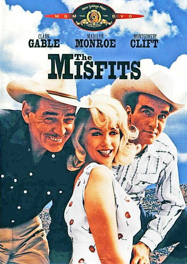 The Mistfits (1961) filminin afişi