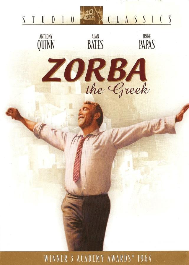 Alexis Zorbas (1964) filminin afişi