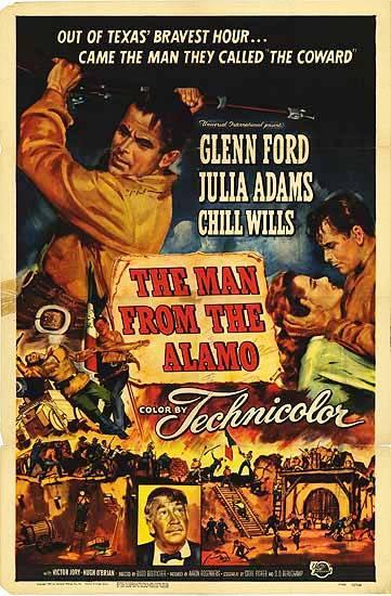 The Man from the Alamo (1953) filminin afişi