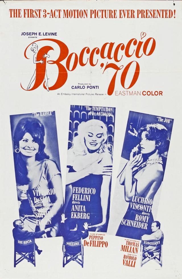 Boccaccio '70 (1962) filminin afişi