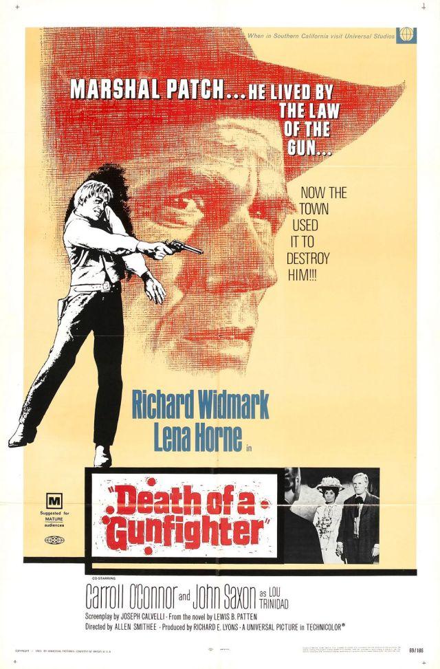 Death Of a Gunfighter (1969) filminin afişi