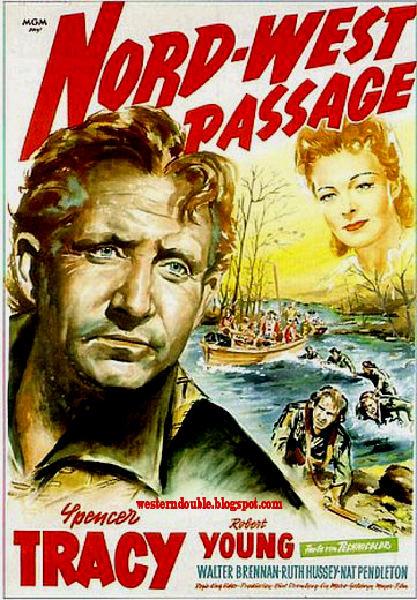 Kuzeybatı Geçidi - Northwest Passage (1940) filminin afişi