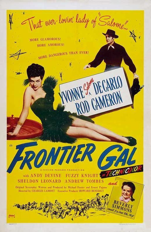 Frontier Gal (1945) filminin afişi