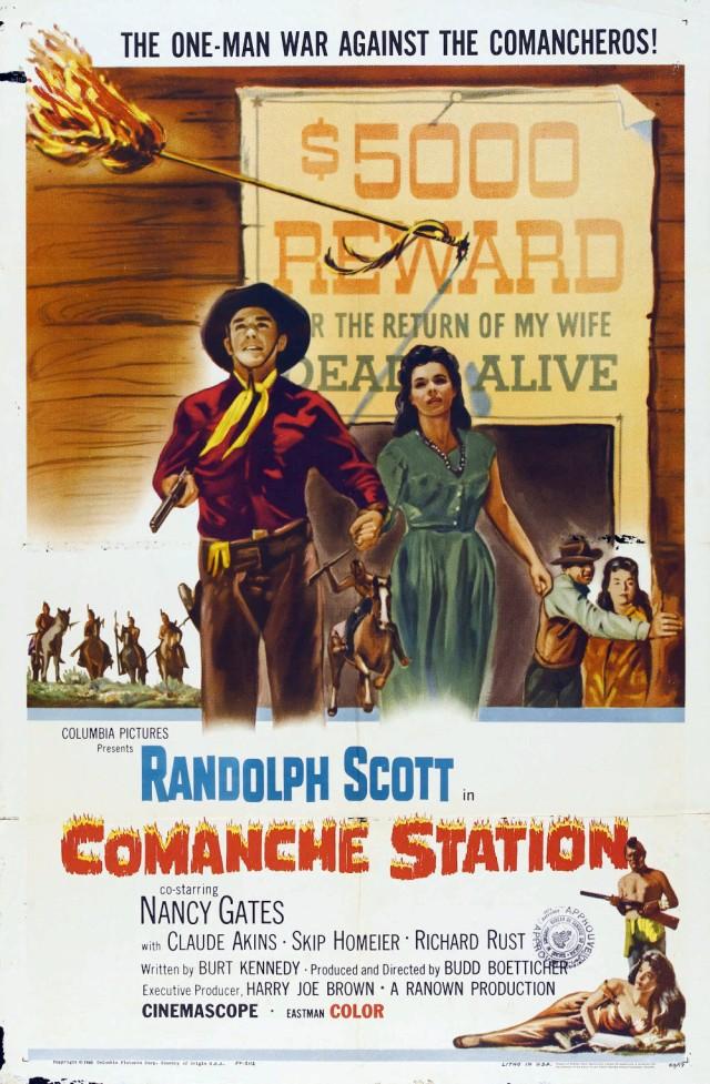 Comanche Station (1960) filminin afişi