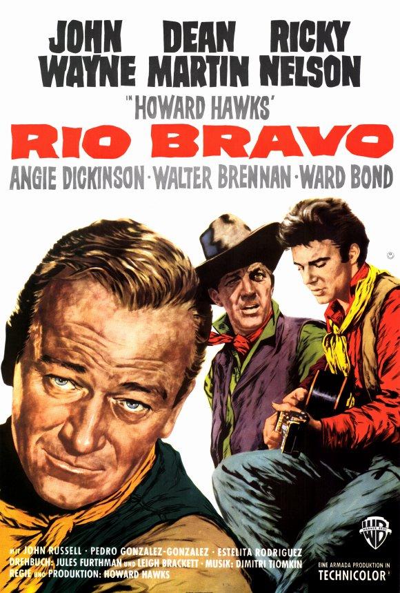 Rio Bravo (1959) filminin afişi