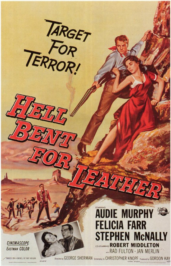 Hell Bent for Leather (1960) filminin afişi