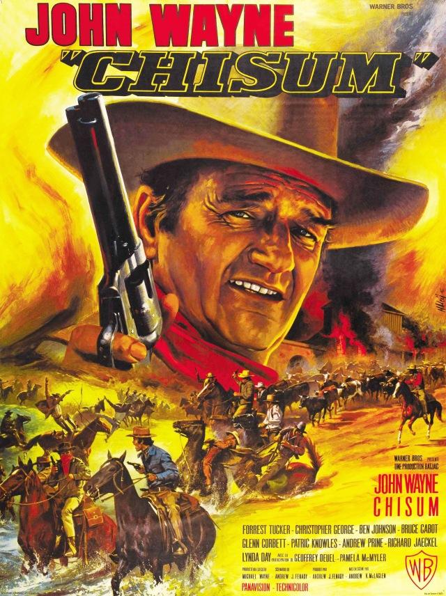 Chisum (1970) filminin afişi