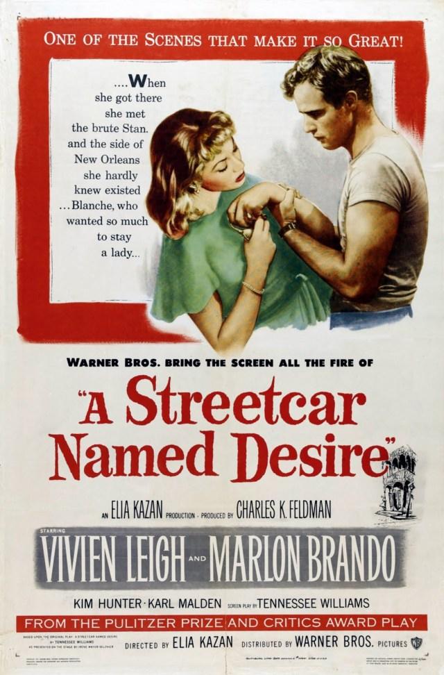 A Streetcar Named Desire (1951) filminin afişi