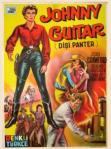 Johnny Guitar (1954) filminin Türkçe afişi