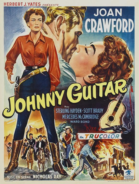 Johnny Guitar (1954) 1080p filminin afişi