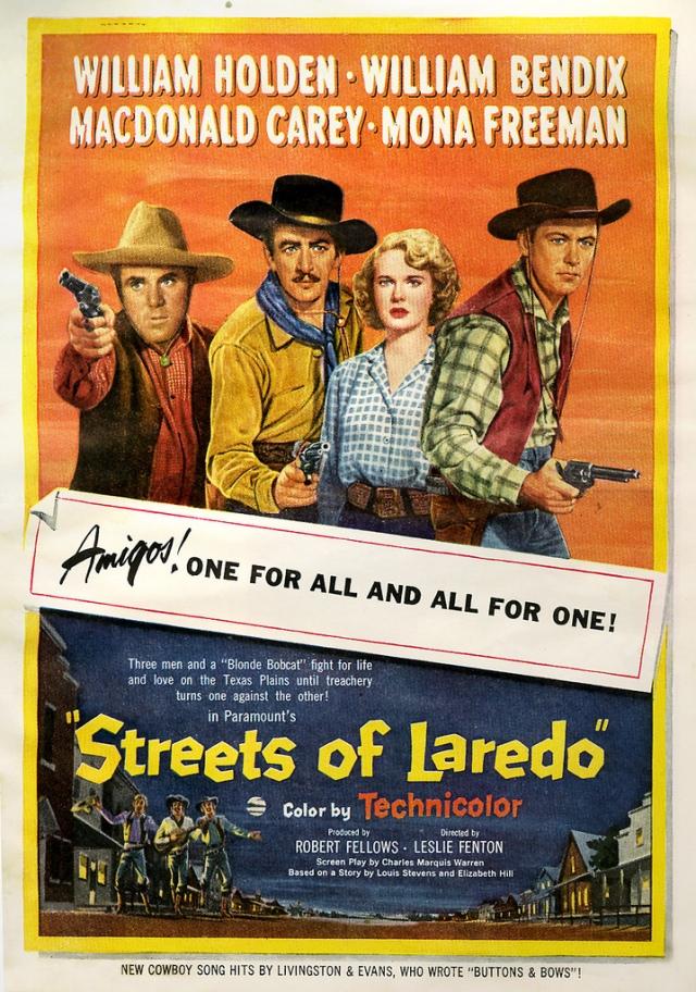 Streets Of Laredo (1949) filminin afişi