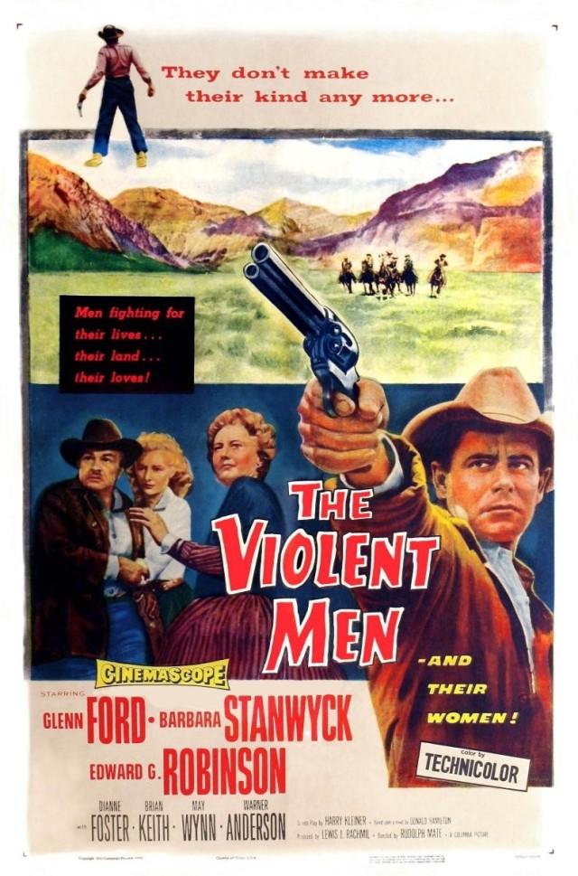 The Violent Man (1955) filminin afişi