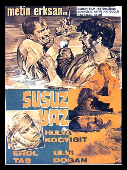 Susuz Yaz (1964) filminin afişi