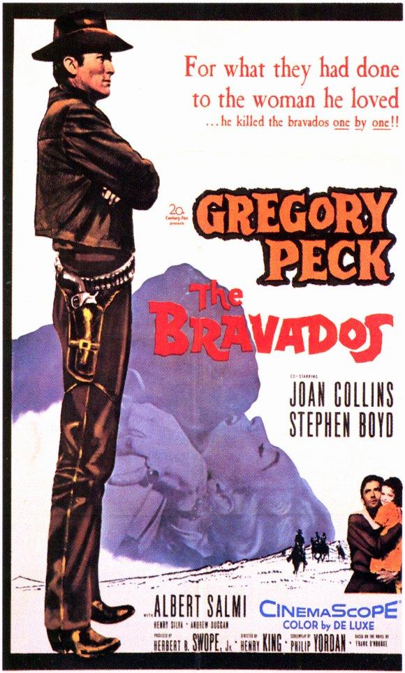 Amansız Takip - The Bravados (1958) filminin afişi