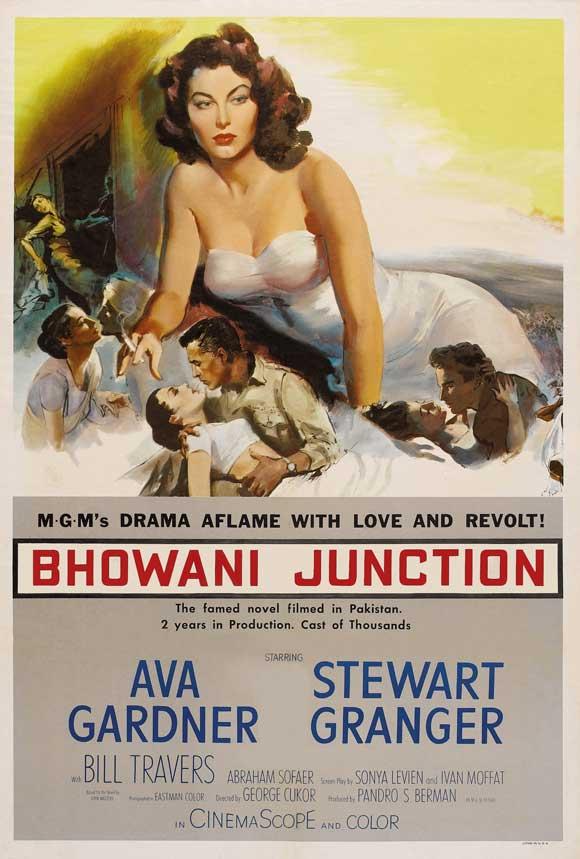 Hint Güneşi - Bhowani Junction (1956) filminin afişi