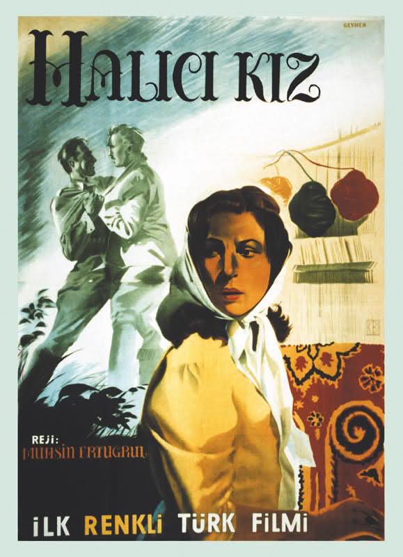 Halıcı Kız (1953) filminin afişi