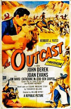 Serseri - The Outcast (1954) filminin afişi