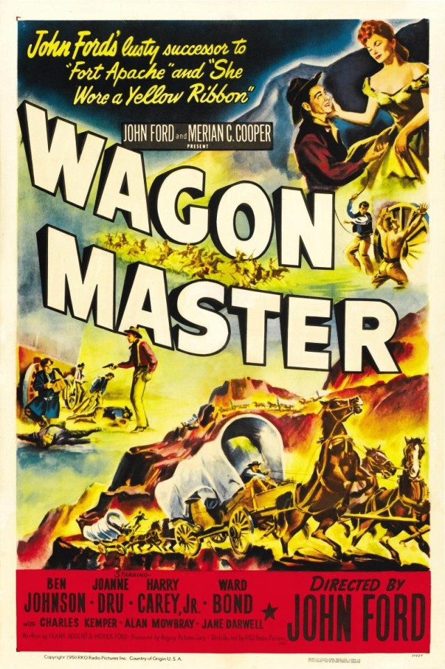 Wagon Master (1950) filminin afişi