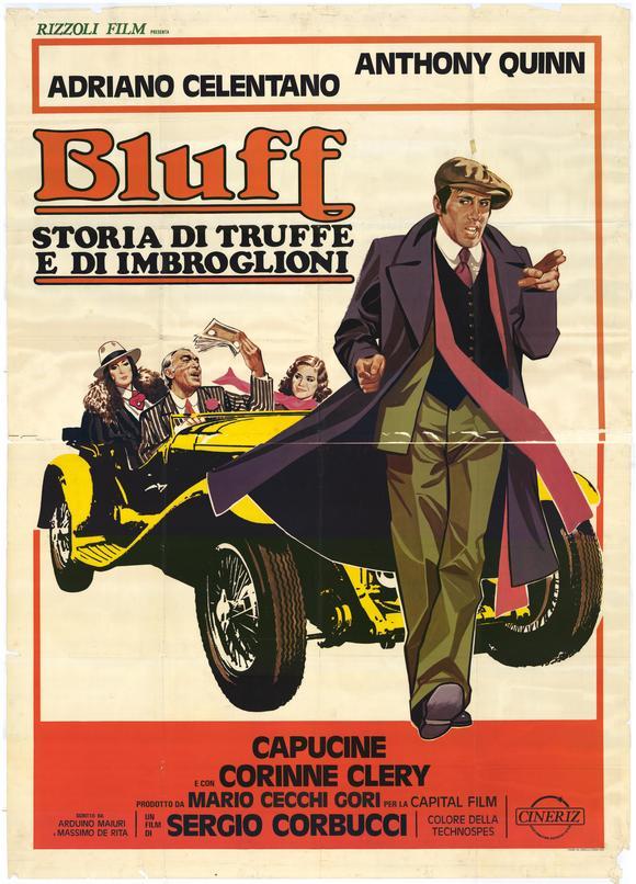 Bluff storia di truffe e di imbroglioni (1976) filminin afişi