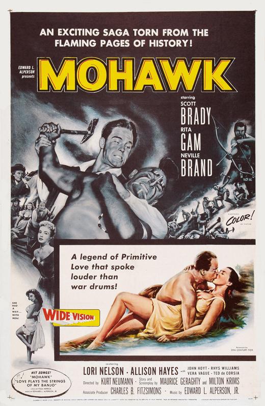 Mohawk (1956) filminin afişi