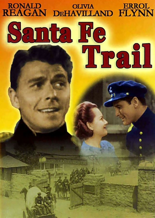 Santa Fe Trail (1940) filminin afişi
