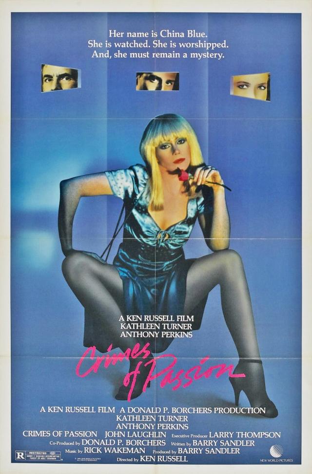 Crimes of Passion (1984) filminin afişi