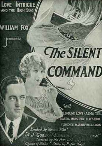 The Silent Command (1923) filminin afişi