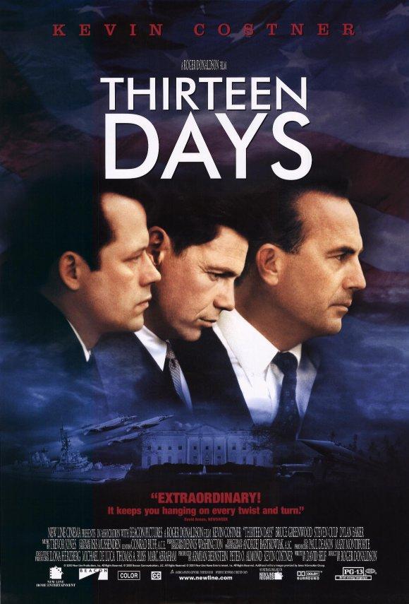 Thirteen Days (2000) filminin afişi