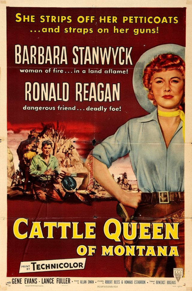 Cattle Queen Of Montana (1954) filminin fragmanı