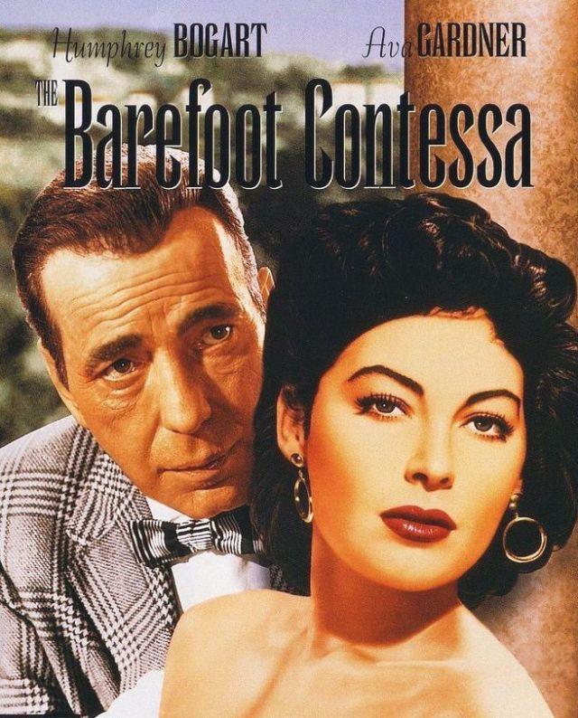 The Barefoot Contessa (1954) filminin afişi