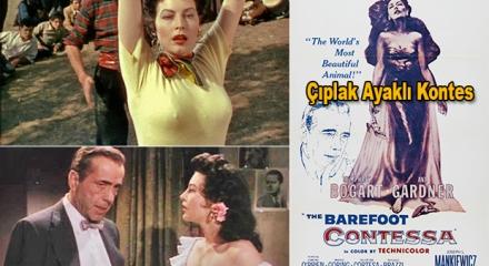 Çıplak Ayaklı Kontes - The Barefoot Contessa (1954)