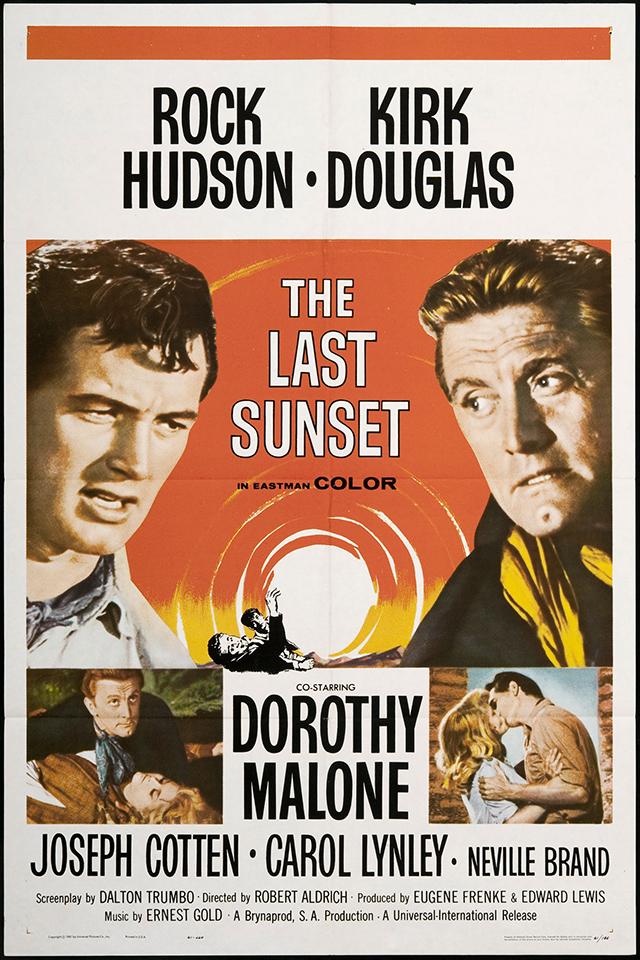 The Last Sunset (1961) filminin afişi