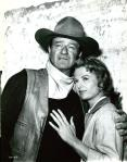 John Wayne-Martha Hyer [The Sons of Katie Elder (1965)]